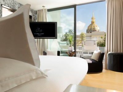 Le Cinq Codet View in Paris