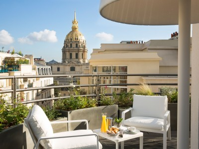 Le Cinq Codet Terrace in Paris