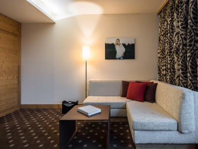 Nira Alpina Alpine Junior Suite in St.Moritz
