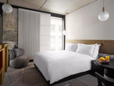 Nobu Hotel Shoreditch Guestroom in London
