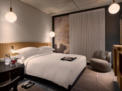 Nobu Hotel Shoreditch Interior Detials in London