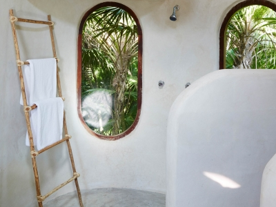 Papaya Playa Project Bathroom in Tulum