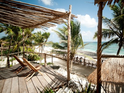 Maya Oceanfront Cabana 1 or 2 Beds, Papaya Playa Project