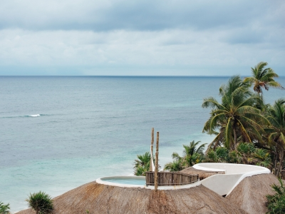 Private Casita Oceanfront, Papaya Playa Project