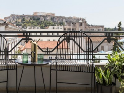 Superior Room with Acropolis View, Perianth Hotel