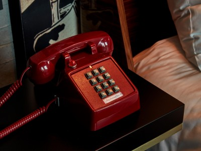 Sir Adam Hotel Red Telephone in Amsterdam