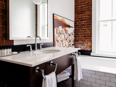The Dwell King Bathroom in Chattanooga