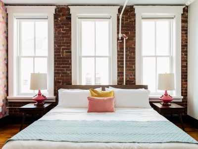 The Dwell Pink Cushion in Chattanooga