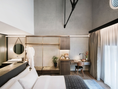 The Warehouse Hotel River View Loft in Singapore