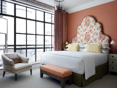 The Whitby Terrace Bedrooom in New York City