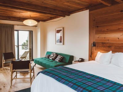 Timber Cove Resort Junior Suite in Jenner, Sonoma County
