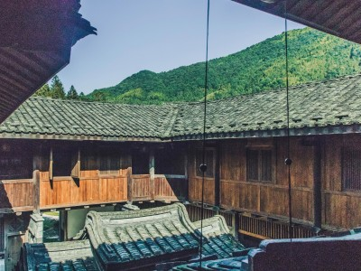 Tsingpu Tulou Retreat Deluxe Mountain View Room in Zhangzhou