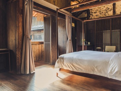 Tsingpu Tulou Retreat Premiere Mountain View Room in Zhangzhou