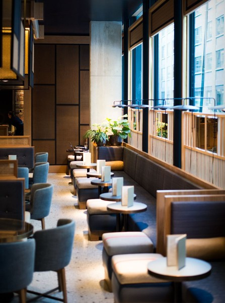 Nobu Hotel Shoreditch Tables in London