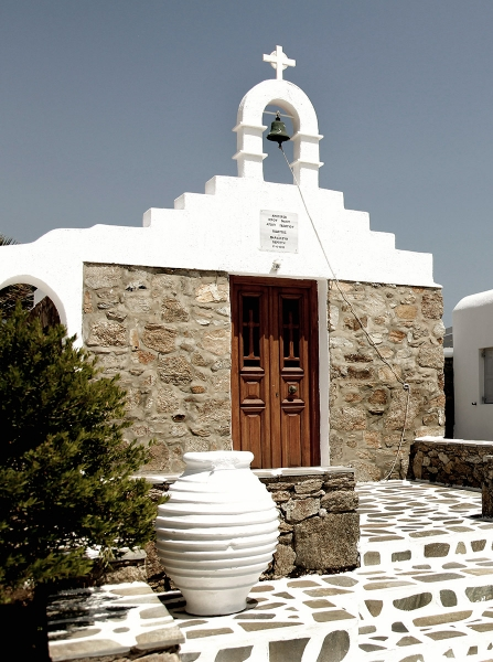 San Giorgio Mykonos Architecture in Greece