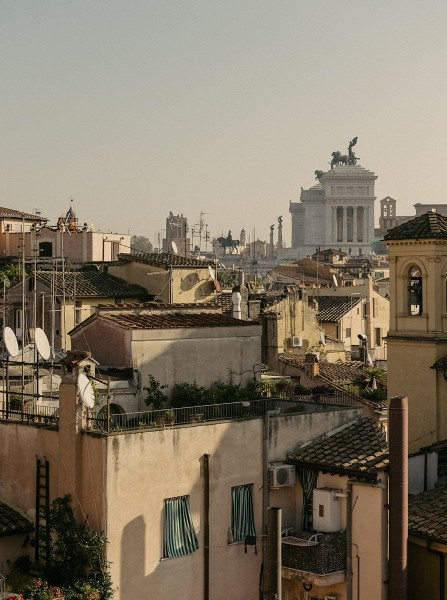 Chapter Roma Skyline in Rome