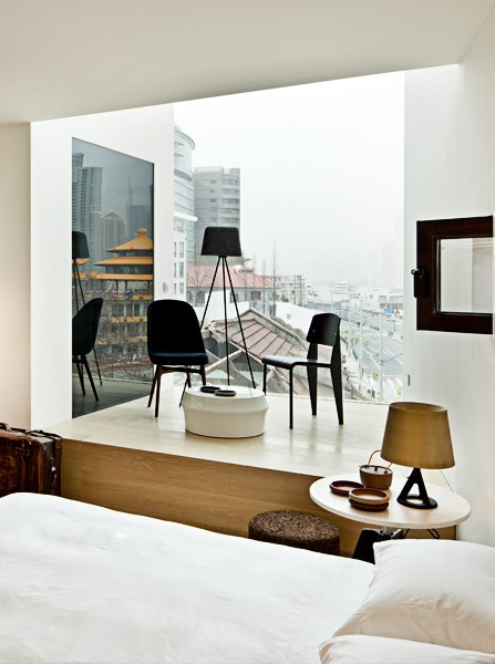 New Majestic Hotel Peng Lik Loh window with view
