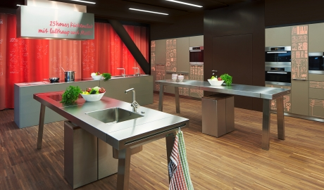 25hours hotel zurich west zurich switzerland design for Kitchen design zurich