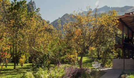 Andenia Garden Mountain View in Sacred Valley