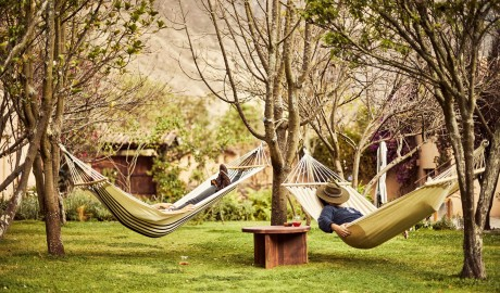 Andenia Garden Hammocks in Sacred Valley