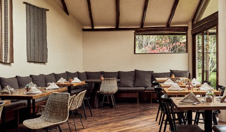 Andenia Restaurant Interior Design in Sacred Valley