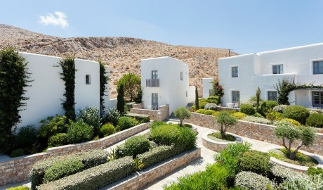 Anemi Hotel Plants on Folegandros Island