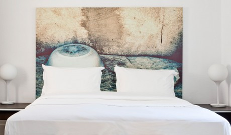 Anemi Hotel Bed on Folegandros Island