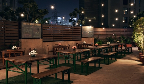 Anya Hotel Beer Garden Terrace City View By Night M 02 R