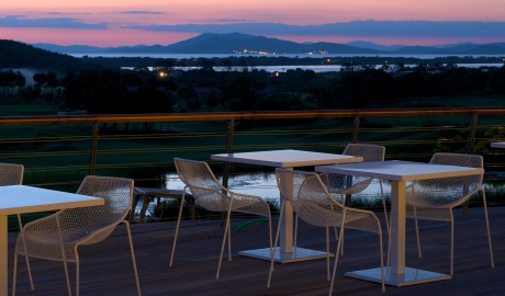 Argentario Resort Golf And Spa Terrace Landscape View By Sundown M 13 R