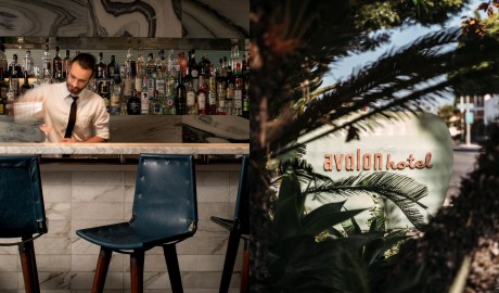 Avalon Hotel Beverly Hills Bar in Los Angeles