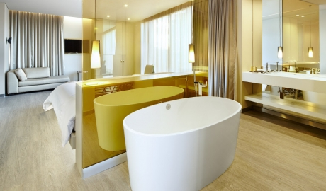 Bog Hotel Suite Bathtub View Interior Design M 03 V01
