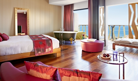 Bohemia Suites and Spa Guestroom on Gran Canaria