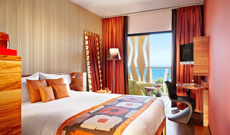 Bohemia Suites And Spa Bedroom Interior Design Balcony Ocean View M 07