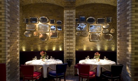 Boundary Restaurant Interior in London