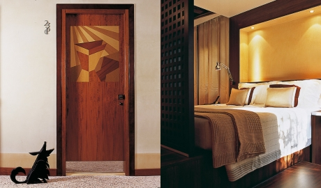 Ca Pisani Room Door Art Bedroom View M 03