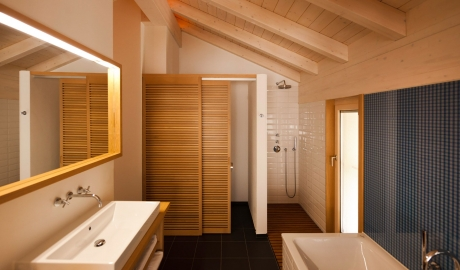 Cervo Mountain Bathroom in Zermatt