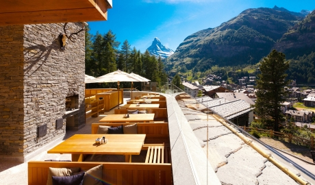 Cervo Mountain Terrace in Zermatt