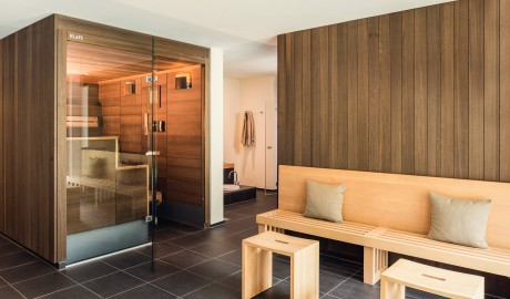 Cervo Mountain Boutique Resort Wellness Sauna in Zermatt