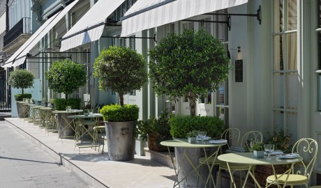 Charlotte Street Hotel Exterior Terrace in London