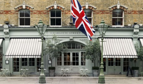 Charlotte Street Hotel Flag in London