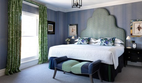Charlotte Street Hotel Bedroom Interior Design in London