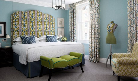 Charlotte Street Hotel Guestroom Interior Design in London