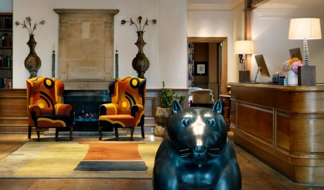 Charlotte Street Hotel Lobby Interior Design in London