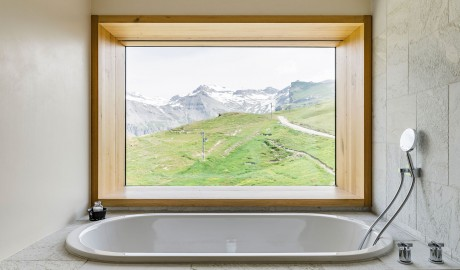 Chetzeron Design Details in Crans-Montana