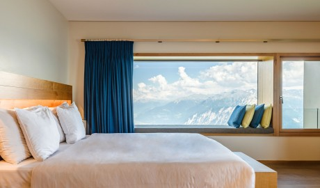 Chetzeron Bedroom in Crans-Montana