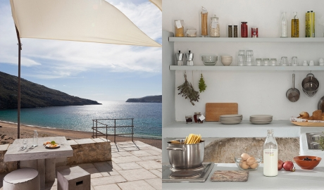 Coco-Mat Eco Residences Serifos Food in Greece