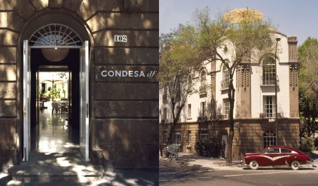 Condesa DF Building in Mexico City