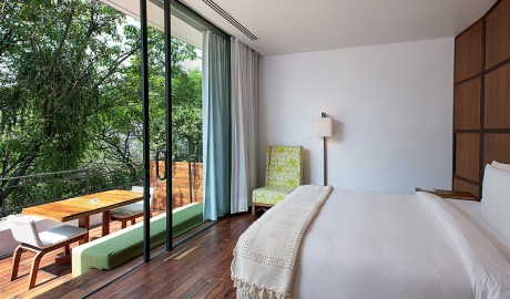 Condesa DF Guestroom View in Mexico City