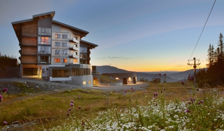 Copperhill Mountain Lodge Architecture Landscpa View By Summer M 13 R