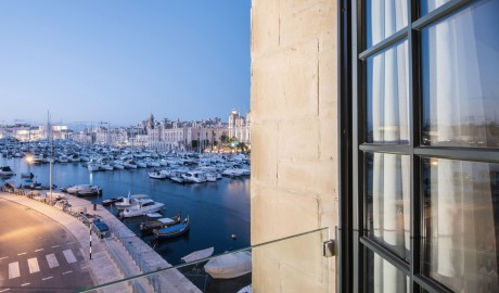 Cugo Gran Macina Grand Harbour Window in Senglea